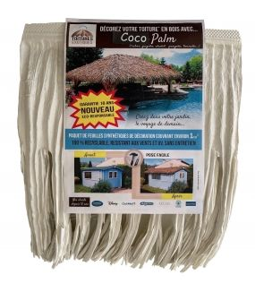 Fausse toiture exotique Coco Palm